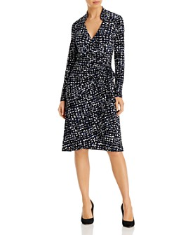 Leota - Gabrielle Faux-Wrap Dress