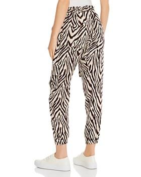 Current/Elliott - The Roxwell Zebra Print Cargo Pants