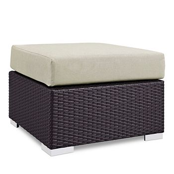 Modway - Convene Outdoor Patio Square Ottoman