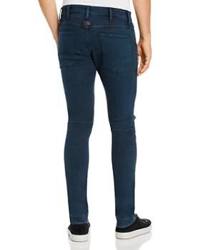 G-STAR RAW - 5620 3-D Zip-Knee Skinny Fit Jeans in Legion Blue