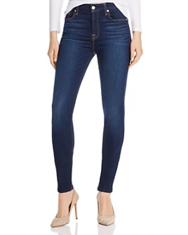 7 For All Mankind - Slim Illusion Luxe Skinny Jeans in Tried & True