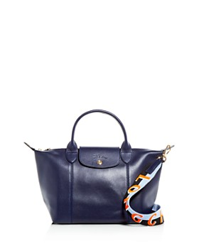 Longchamp - Le Pliage Small Leather Shoulder Bag