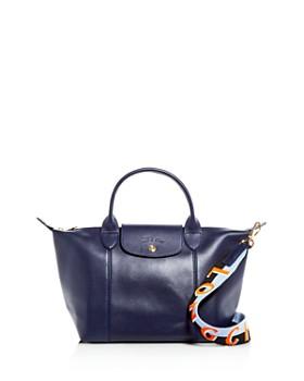 Longchamp - Le Pliage Small Leather Shoulder Bag