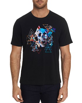 Robert Graham - Geo Skull Graphic Tee
