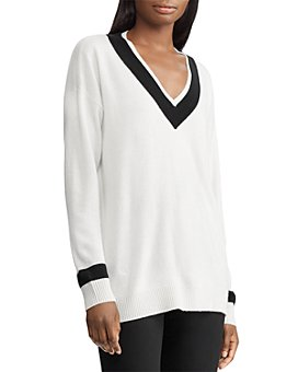 Ralph Lauren - Washable Cashmere Cricket Sweater - 100% Exclusive