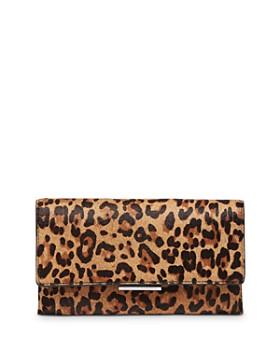 Loeffler Randall - Leopard-Print Tab Clutch