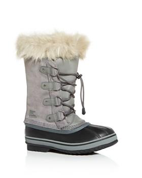 Sorel - Unisex Joan Of Arctic Suede Cold Weather Boots- Little Kid, Big Kid