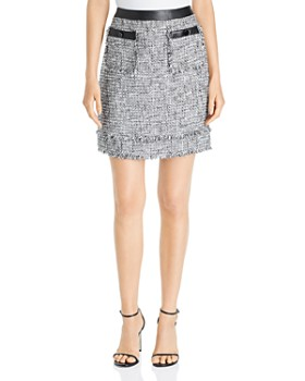 KARL LAGERFELD Paris - Tweed Mini Skirt