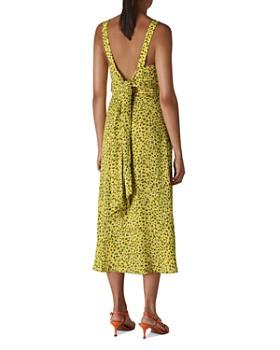 Whistles - Llora Clouded Leopard Print Midi Dress