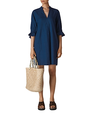 Whistles Sonia Frilled Shift Dress