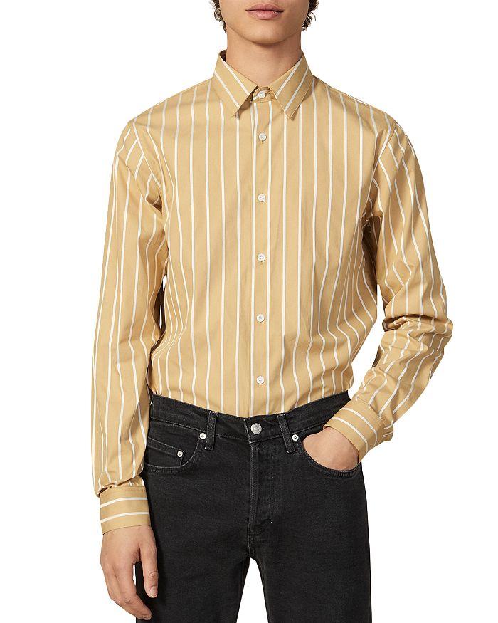 Sandro - Bank Slim Fit Shirt