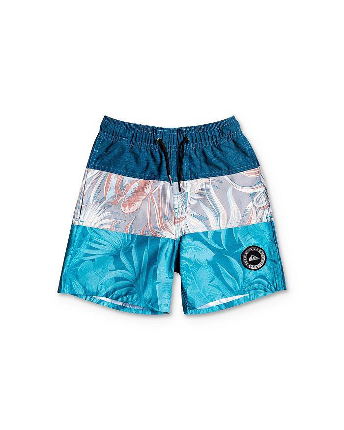 Quiksilver - Boys' Color-Block Volley Shorts - Little Kid