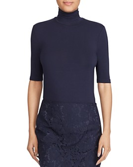 Ralph Lauren - Elbow-Sleeve Turtleneck Tee
