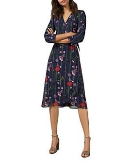Ted Baker - Elowisa Hedgerow-Printed Wrap Dress