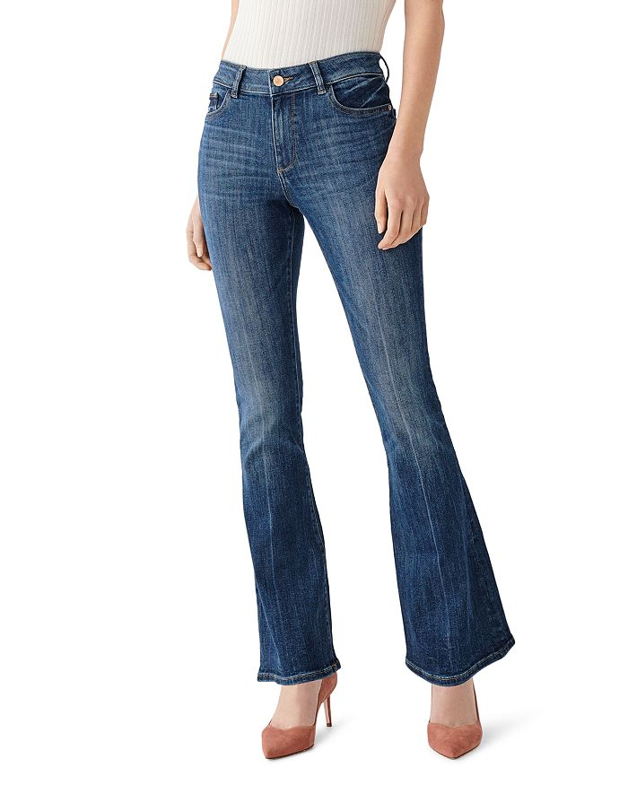DL1961 - Bridget Mid-Rise Boot Jeans in Seaford