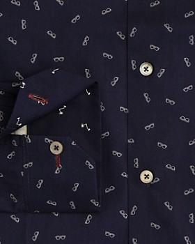Paul Smith - Gents Sunglasses Print Regular Fit Dress Shirt