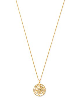 """Bloomingdale's - Vine Pendant Necklace in 14K Yellow Gold, 20"""" - 100% Exclusive"""