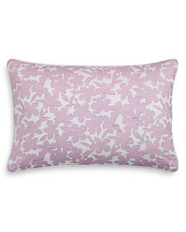 "Sky - Ikat Floral Decorative Pillow, 16"" x 24"" - 100% Exclusive"