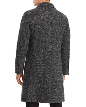 KARL LAGERFELD Paris - Marled Boucle 2-In-1 Overcoat