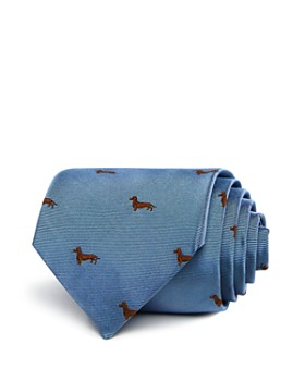 Paul Smith - Dachsund Pattern Classic Tie