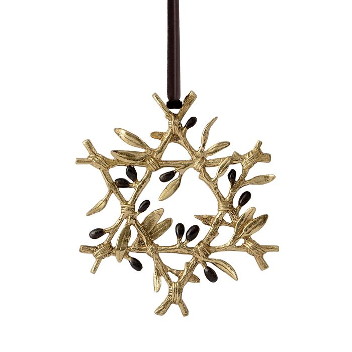 Michael Aram - Olive Branch Star Ornament