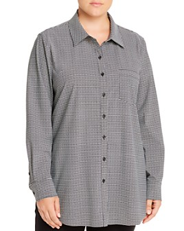 Lyssé Plus - Schiffer Button-Down Top