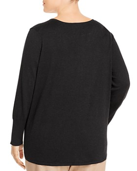 NIC and ZOE Plus - Vital V-Neck Sweater