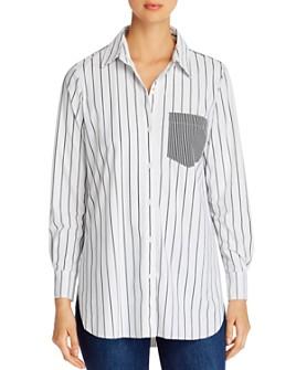 Lyssé - Schiffer Contrast-Stripe Shirt