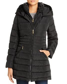 Laundry by Shelli Segal - Zip-Front Puffer Coat