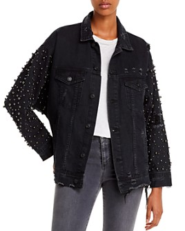 Sunset & Spring - Embellished Denim Jacket - 100% Exclusive