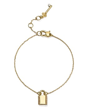 kate spade new york - Pavé Lock Solitaire Bracelet