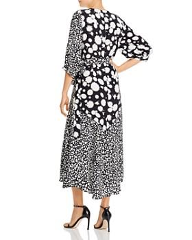 Paper London - Fresia Heavy Petal Wrap Maxi Dress