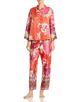 Natori - Floral Fusion Pajama Set