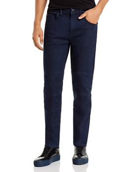 KARL LAGERFELD Paris - Core Motto Slim Fit Jeans in Indigo