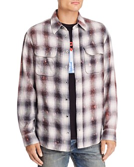 Purple Brand - Plaid Regular Fit Flannel Shirt