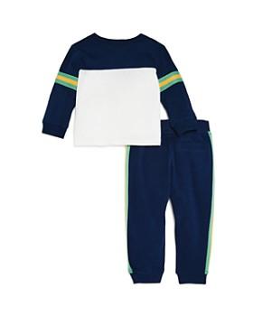 Splendid - Boys' Color-Block Tee & Striped Pants Set - Baby