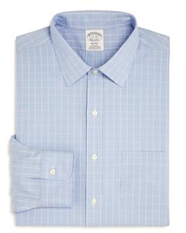 Brooks Brothers - Puppytooth Plaid Regular Fit Dress Shirt