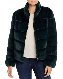 Generation Love - Jodi Quilted Faux Fur Jacket