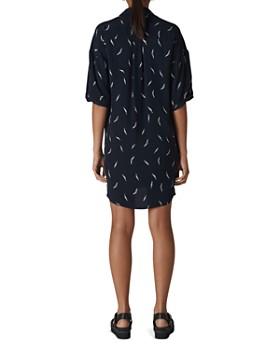 Whistles - Lola Stroke-Print Dress