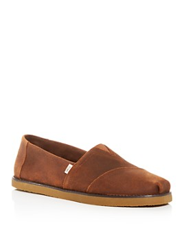 TOMS - Men's Classic Suede Slip-On Sneakers