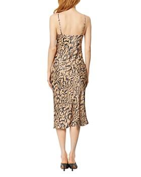 Habitual - Animal-Print Slip Dress