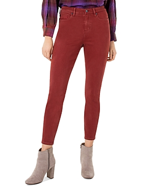 Liverpool Abby Skinny Jeans in Cherry Wood-Women