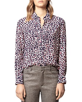 Zadig & Voltaire - Tali Leopard-Print Shirt