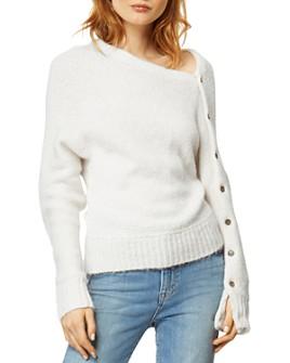Habitual - Braylen Asymmetric Snap-Sleeve Sweater