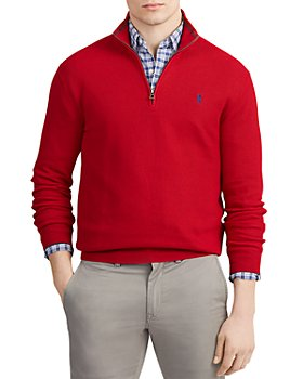 Polo Ralph Lauren - Cotton Quarter-Zip Sweater