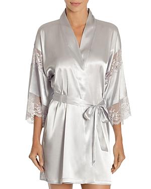 In Bloom by Jonquil Satin Wrap Robe-Women