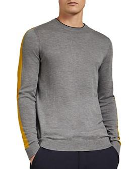 Ted Baker - Noirmon Striped Crewneck Sweater
