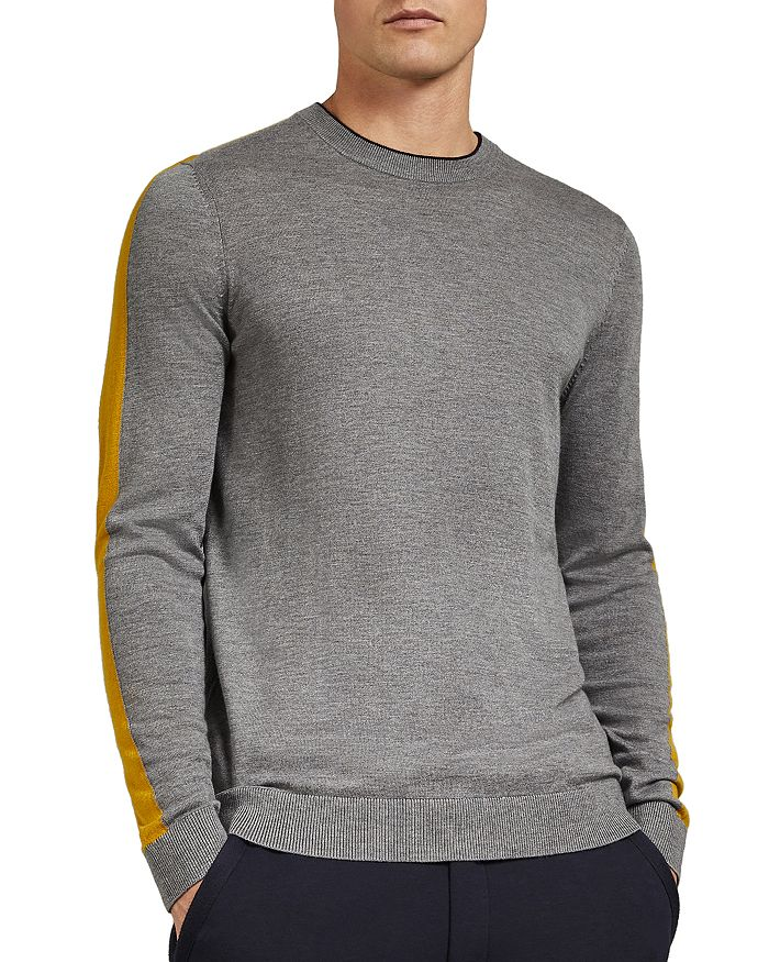 7e97d60f0cc83 Noirmon Striped Crewneck Sweater