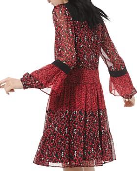 MICHAEL Michael Kors - Maple Grove Mixed Print Dress