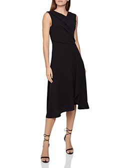 REISS - Marling Sleeveless Draped Dress